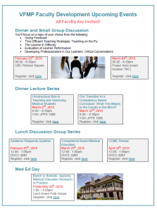 FoM Faculty Development Events