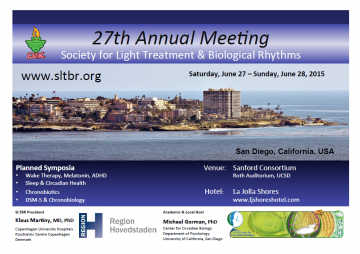 Annual Meeting of the Society for Light Treatment and Biological Rhythms