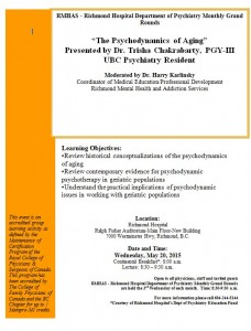 Richmond Hospital Grand Rounds May 20