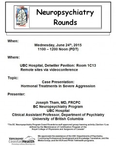 BCNP Grand Rounds: Wednesday  June 24th