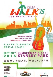 Ismaili Walk  for  Mental Health