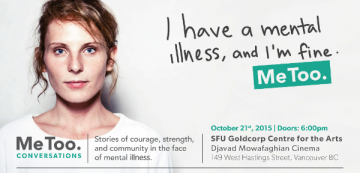 VGH & UBC Foundation: Join us October 21 to shatter the stigma of mental illness