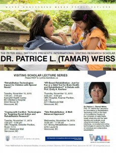 Visiting Scholar Lecture Series: Dr. Patrice L. (Tamar) Weiss