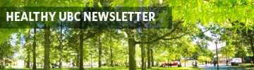 Healthy UBC Newsletter: December 2015