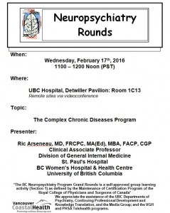 BCNP Grand Rounds Wednesday  February  17th