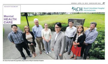 Dr. Anson Koo featured  by the Royal Colombian Hospital Foundation