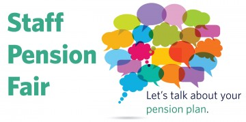 Staff Pension Plan Fair – Wednesday, June 8
