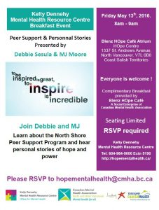 LGH Mental Health Breakfast Friday May 13th