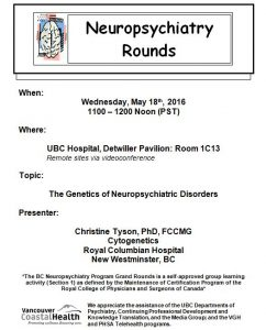 BCNP Grand Rounds Wednesday  May 18
