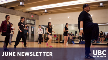 UBC Recreation June Newsletter