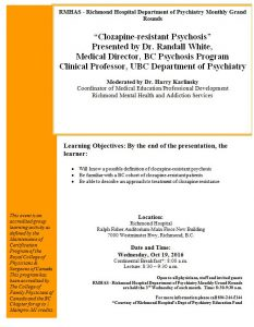 Richmond Psychiatry Grand Rounds  Wednesday October  19th
