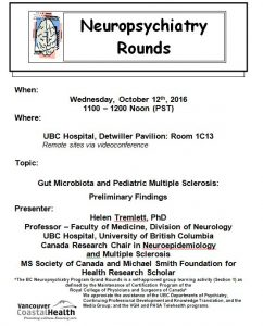 BCNP Grand Rounds  Wednesday  October  12th