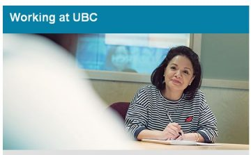 Working at UBC: March 8