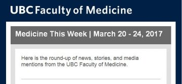 FoM Medicine This Week | March 20 – 24, 2017