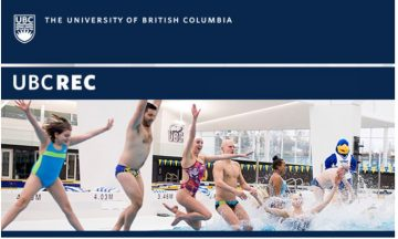 UBC Rec March Events