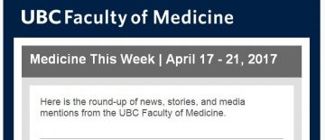 FoM  Medicine This Week | April 17 – 21, 2017