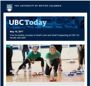 UBC Today: New Provost announced, Sports Day photos, President's Service Awards for Excellence recipients, and meet Pamela Ratner