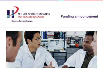 Funding announcement: New MSFHR awards for 11 health professional researchers