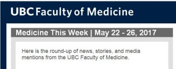 FoM  Medicine This Week | May 22 – 26, 2017