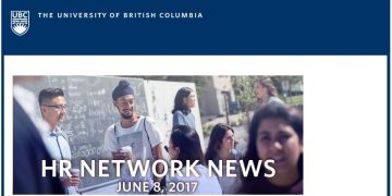 UBC  HR Network News (June 8, 2017): New Entrance & Exit Surveys | Community Leadership Program 2017/18 | Upcoming Mental Health Workshops