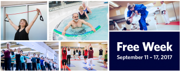 UBC Recreation – Free Week September 11 – 17