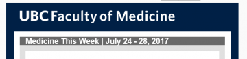 FoM Medicine This Week | July 24 – 28, 2017