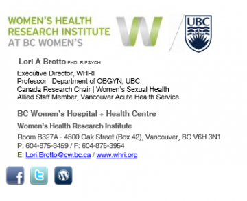 Women's Health Research Institute Genomic Medicine Clinician Scientist Salary Award