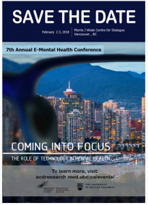 E- Mental Health Conference February 2 – 3 2018