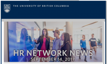 UBC  HR Communications