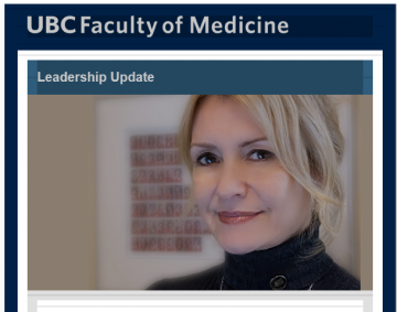 FoM Leadership Update: Cheryl Holmes appointed Associate Dean, Undergraduate Medical Education