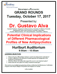 SPH Department of Psychiatry Grand Rounds Tuesday October 17th