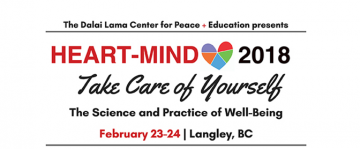 Dalai Lama Center Heart-Mind 2018: Registration opens this Thursday