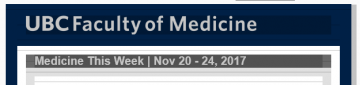 Medicine This Week | Nov 20 – 24, 2017