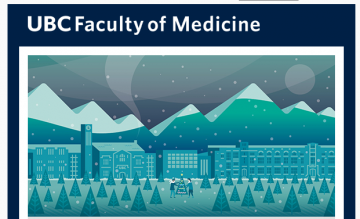 Season's Greetings from the UBC Faculty of Medicine
