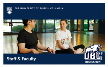 UBC Recreation – Start 2018 the right way … with movement!
