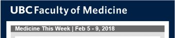 Medicine This Week | Feb 5 – 9, 2018