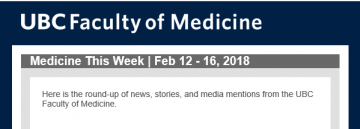 FoM Medicine This Week | Feb 12 – 16, 2018