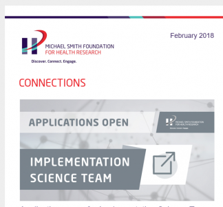 MSFHR Connections | Applications open for Implementation Science Team competition