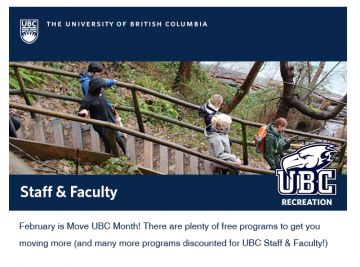 UBC Recreation February 2018