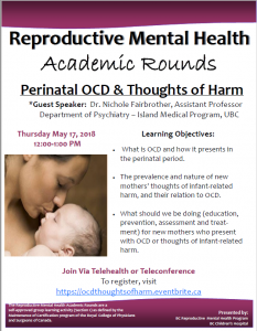 RMH Academic Rounds: Thursday May 17th