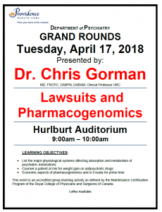 SPH Department of Psychiatry Grand Rounds Tuesday, April 17,