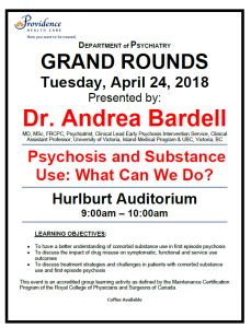 SPH Department of Psychiatry Grand Rounds Tuesday April 24th