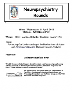 BCNP Grand Rounds Wednesday April 11th