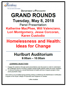 SPH Department of Psychiatry Grand Rounds Tuesday May 8th