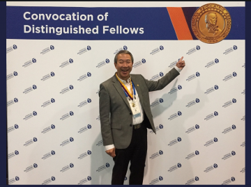 Congratulations top Dr. R Lam on receiving the Distinguished Life Fellow medal from the American Psychiatric Association