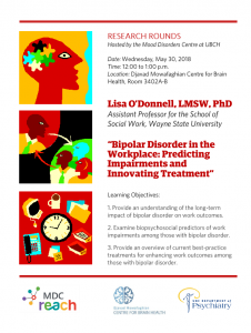 MDC Research Rounds – May 30 at 12 p.m