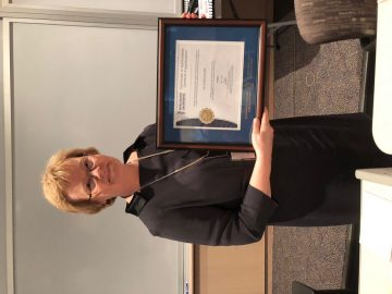 Congratulations to Dr. C. Gosselin on being celebrated at the Royal College or her 4 years of service as Chief Examiner for Psychiatry