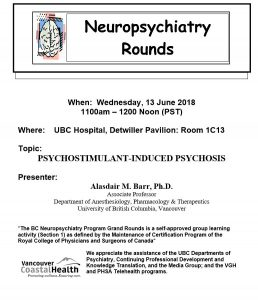 BCNP Grand Rounds  Wednesday June 13th