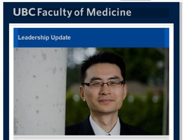 FoM  Leadership Update: Don Sin appointed Director, UBC James Hogg Research Centre