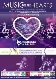 Music For The Hearts 5th Annual Fundraising Concert Saturday September 15th